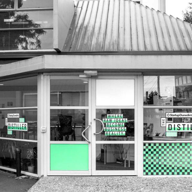 The Distiller, Dunedin – Entrance Signange