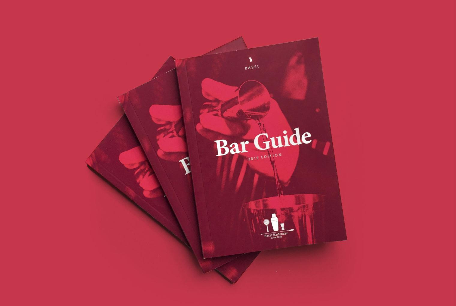 , Basel Barguide 2019, Swiwi Design – Kreativ Studio – Aargau/Basel