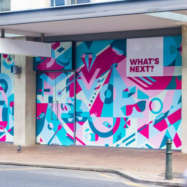 DCC, Dunedin –Wall Street Mall Mural