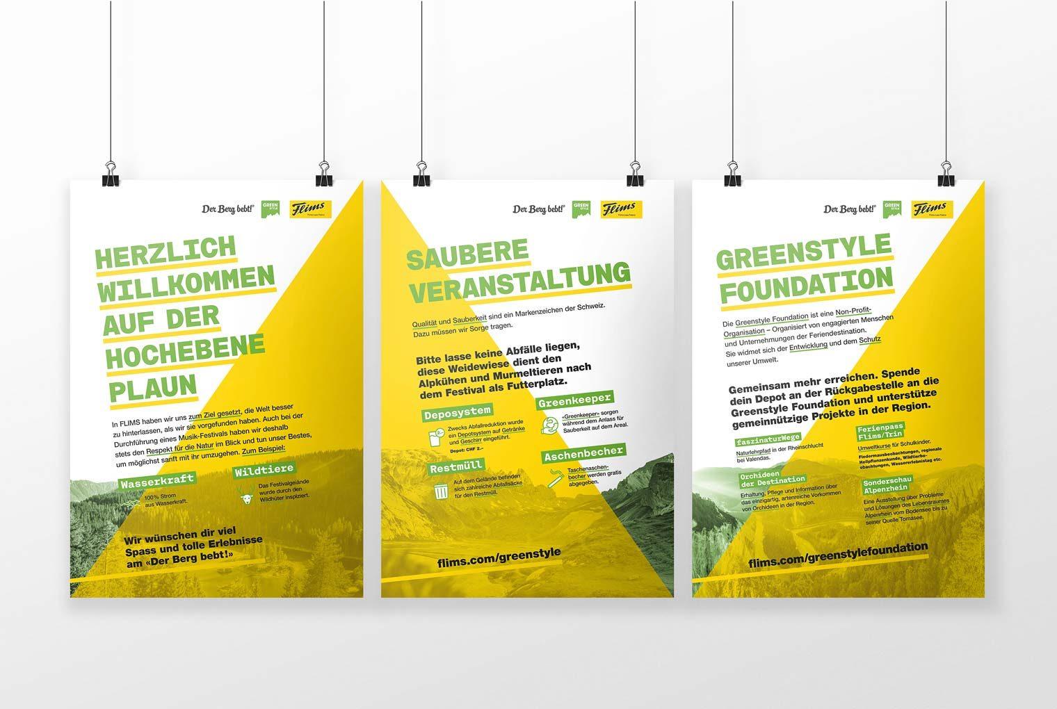 Greenstyle Laax – Logo