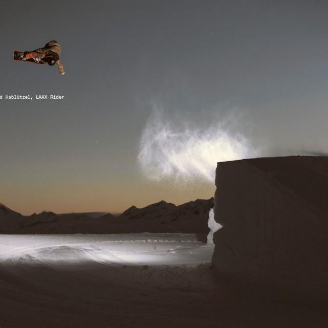 Poster Snowpark Laax