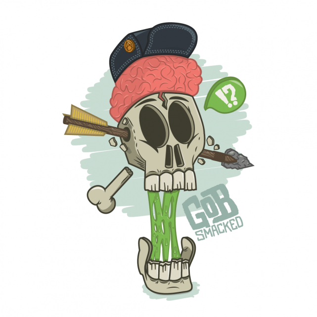 Swiwi Design – Skull illustration